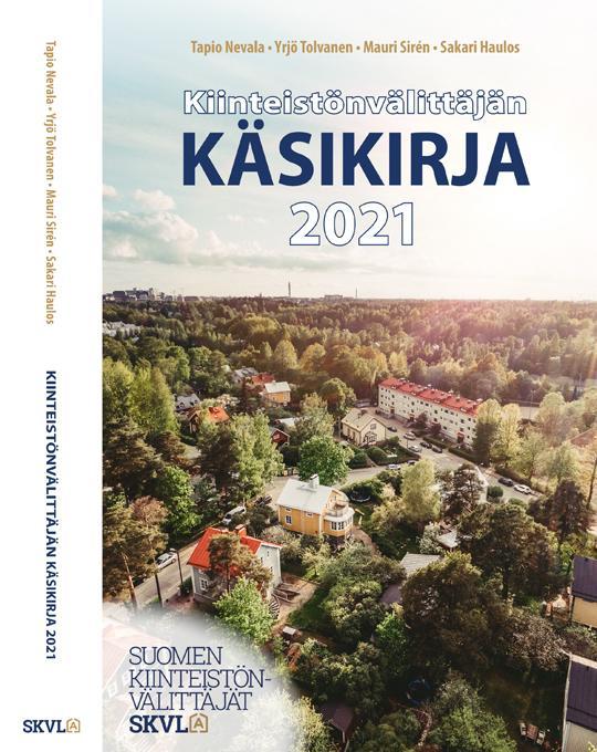 Kiinteistönvälittäjän käsikirja 2021 kansikuva